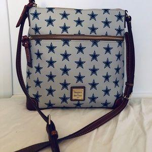 Dooney and Bourke Dallas Cowboys crossbody purse